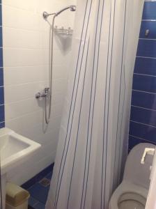 Ванная комната в Гостевой дом «Палуба»