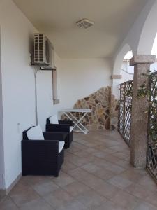 A balcony or terrace at Hotel Il Platano