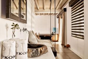 Część wypoczynkowa w obiekcie Myconian Utopia Relais & Chateaux