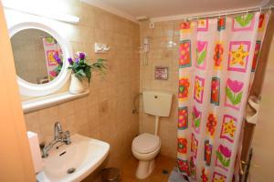 Ένα μπάνιο στο Sappho Hotel