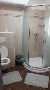 Koupelna v ubytování Penzion Pohoda