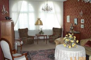 Ein Sitzbereich in der Unterkunft Haus-Maria