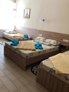 Кровать или кровати в номере Мини-отель Дуэт