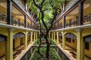 A balcony or terrace at Victoria Angkor Resort & Spa