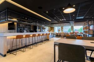A restaurant or other place to eat at Park Inn by Radisson Antwerp Berchem