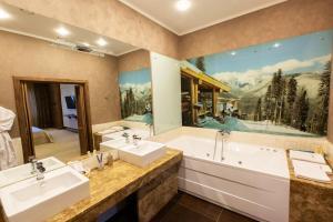 A bathroom at Vetryakov Boutique Hotel