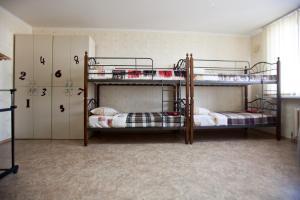 Двох'ярусне ліжко або двоярусні ліжка в номері Хостел Freedom