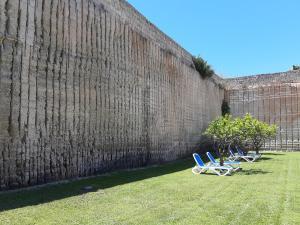 Jardín al aire libre en Hotel Delle Cave
