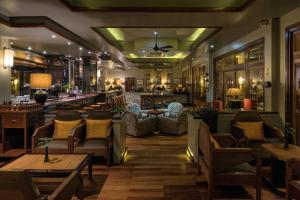 A restaurant or other place to eat at Victoria Angkor Resort & Spa