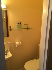 A bathroom at Marlow Lodge