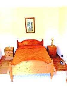 A bed or beds in a room at The Master Bedroom with private landing