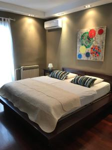A bed or beds in a room at Apartment Francos