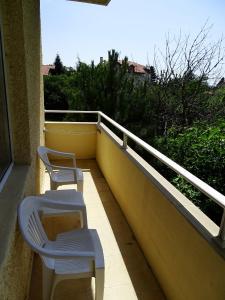 Балкон или тераса в Паралакс Хотел