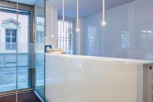 Salle de bains dans l'établissement Savoy Hotel