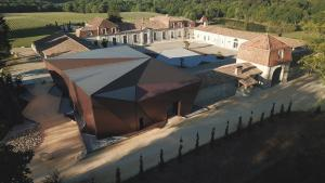 A bird's-eye view of Chateau Prieure Marquet