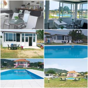 The swimming pool at or near Vigla House