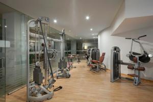 Gimnasio o instalaciones de fitness de Vincci Selección La Plantación del Sur