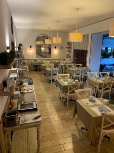 Restaurant ou autre lieu de restauration dans l'établissement Hôtel des Druides