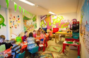 The kid's club at PDS Deluxe 6 personen