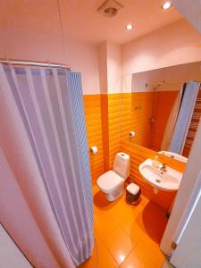 A bathroom at Mazā Kāpa