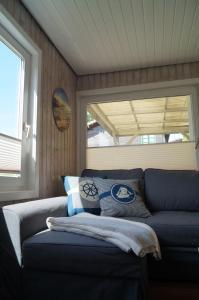 Ein Bett oder Betten in einem Zimmer der Unterkunft Kleine Auszeit