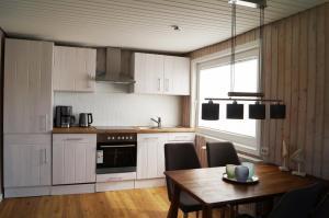 Küche/Küchenzeile in der Unterkunft Kleine Auszeit