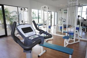 The fitness center and/or fitness facilities at Mantra on View Hotel