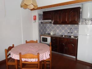Кухня или мини-кухня в Apartamentos Turisticos Silchoro