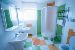 Kúpeľňa v ubytovaní Penzion Ajda