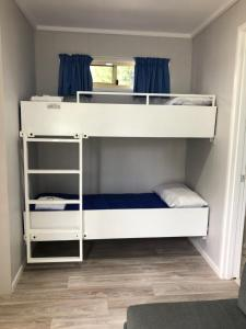 A bunk bed or bunk beds in a room at Big4 Hervey Bay Holiday Park