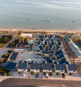 A bird's-eye view of Oceanside Village