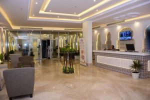 منطقة الاستقبال أو اللوبي في فندق الفرحان بنده