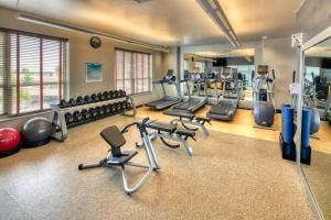 The fitness center and/or fitness facilities at Hilton Madison Monona Terrace