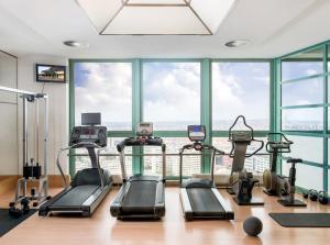 Centrum fitness w obiekcie Panorama Hotel Prague