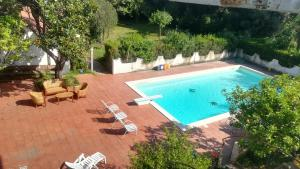 A view of the pool at Appartamento in Villa or nearby