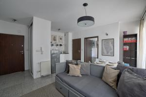 A seating area at Apartament LAVENDER