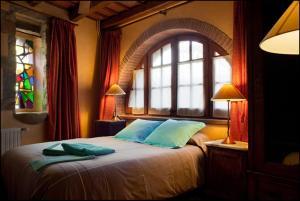 Cama o camas de una habitación en Can Vila
