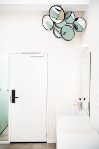 A bathroom at Hotel Bruno