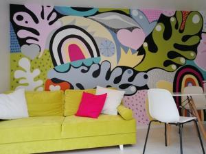 Część wypoczynkowa w obiekcie Art Apartments