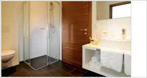 A bathroom at Alpenstern