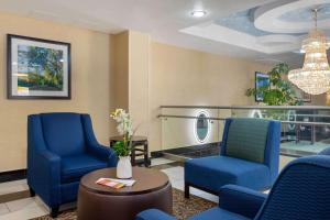 A seating area at Comfort Inn & Suites near JFK Air Train