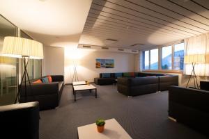 Ein Sitzbereich in der Unterkunft Hotel und Seminarhaus Ländli
