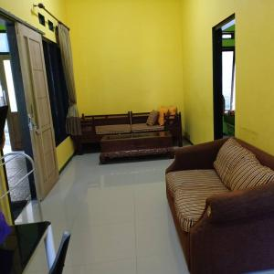 A seating area at Green homestay