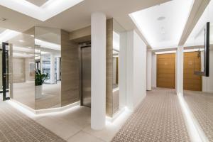 Ванная комната в Hotel Alley