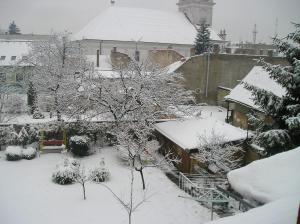 Apartmán Silvia during the winter