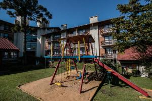Children's play area at Residencial Pousada Serrano