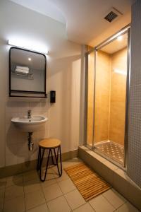 A bathroom at Generator Dublin