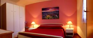 Letto o letti in una camera di Apartment Mini Monaco