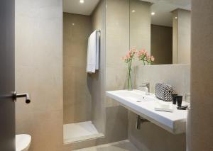 Salle de bains dans l'établissement Hotel Fernando III