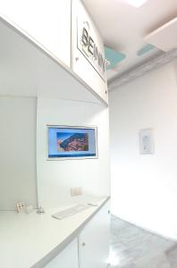 A television and/or entertainment centre at Be Inn